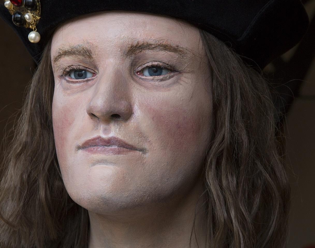 A model of a man's head