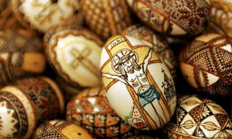 Medieval Easter eggs